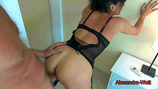 My Dirty Hobby - Hot fuck with mature brunette!