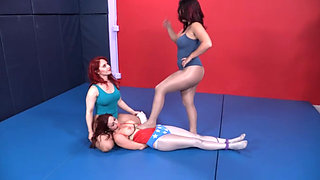 Lezdom Bondage Wrestling