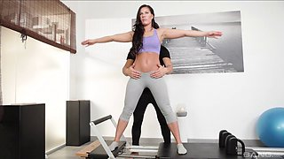 Fit babe Athina Love wants to be pounded by a horny lover