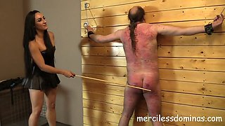 Mistress chloes slave whipped wonderful sounds of whips