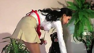 junior maid seduces owner