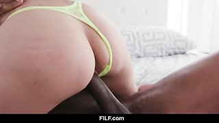 filf - eden sin is owned by her stepfather of huge black cock