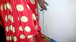 Indian StepMoM with Son In saree Wath more at desindiansexstories.com