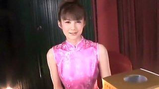Crazy Japanese girl in Amazing Amateur, Slave JAV movie