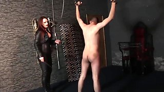 Mistress Rebekka Knows How to Use a Whip