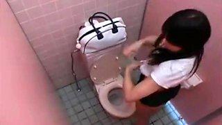 Toilet masturbation 1