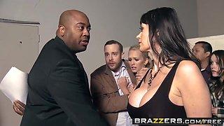 Brazzers - Milfs Like it Big - Eva Karera Jessy Jones and Van Wylde - A Night at the Milfbury