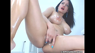 Awesome Solo Masturbation