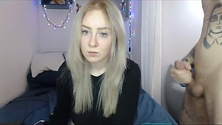 blue eyes teen cam sex show doggie one