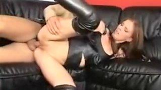 Hottest amateur Latex, Blowjob xxx video