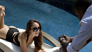 BLACKED Interracial Vacation for Cheating Babe Remy LaCroix