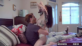 cheating wife fucks daughters man and gets threesome! s7:e4