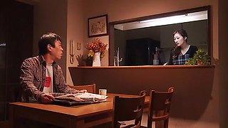 Amazing Japanese girl Julia in Incredible Blowjob/Fera, Kitchen JAV scene