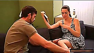 Dad hypnotise and fucked daughter