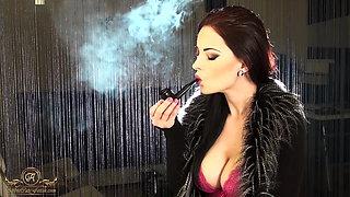 Smoking Pipe Abbie Cat