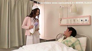 Crazy Japanese whore in Best Masturbation, Nurse JAV clip