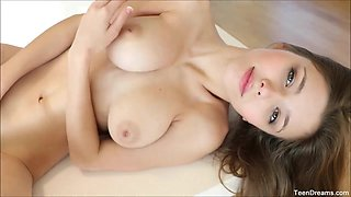 Busty Teen Mila Azul Hot Masturbation