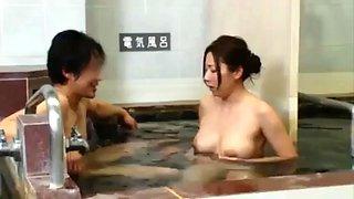 Bath lady