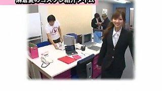 Fabulous Japanese model in Amazing Hairy, Office JAV movie