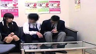 Old dirty voyeur doctor with a hidden cam