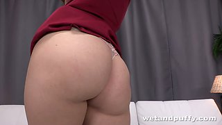 This babe is a real seductress infected with lust and her plump ass is amazing