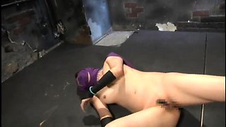 Kinky Oriental babe with a splendid ass gets drilled rough