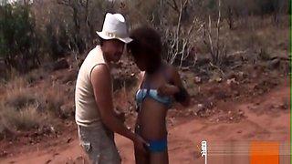 White Dom Humiliates His Ebony Sex Slave