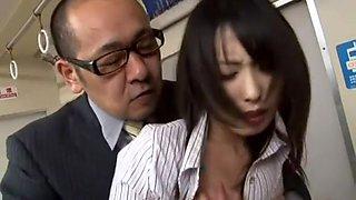 Best Japanese slut Chika Arimura, Haru Kuraki, Reiko Kudou in Hottest Secretary JAV scene