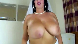 Bbw bride