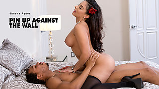 Sheena Ryder & Ricky Johnson in Pin Up Against the Wall - BlackIsBetter