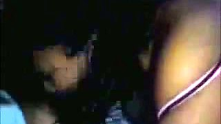 Chubby dark skin Mexican babe with big tits blows me