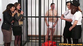 British cfnm milfs sucking prisoners cock