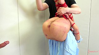 Tanzi has been very naughty and deserves to be punished right now!