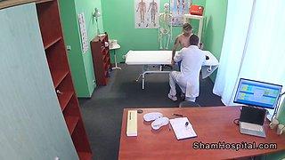 small tits patient gets doctors dick