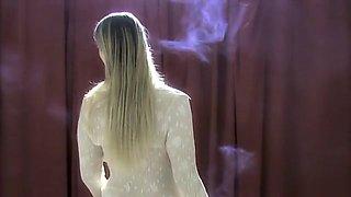 Exotic homemade Solo Girl, Smoking porn video