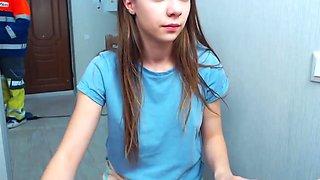 Amateur webcam dildo Matilda sex Hot College Freshman webcam