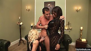 Ebony Godde and Cindy Behr have been getting into some black magic