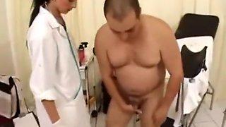 nurse give enema and prostate massage