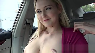 MOFOS - Stranded Teen Mila Evans Bangs In the Back-Seat