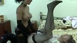 Hottest amateur Femdom, Big Tits sex movie