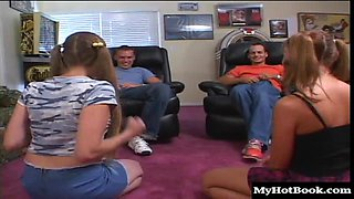 Melanie Jagger and Veronica Lace share some quality bonding time