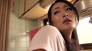 Amazing Japanese girl Risa Murakami in Crazy small tits, oldie JAV scene