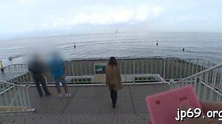 public flashing to random guy segment video 1