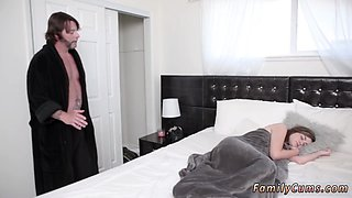 Steamy young doll craves to suck that hulking cock before spreading her legs for her handsome lover