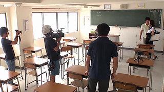 Japanese Teacher Fucked Her Student