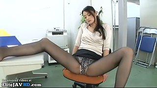 japanese milf secretary with stunning perfect legs