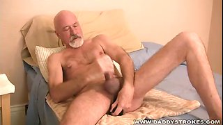 Daddy Mike Jerks And Plays With Toys