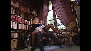 Laura singer fucked as a french maid