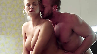 Beautiful blonde getting fucked hard