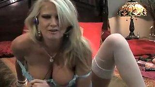 Crazy homemade Blonde, Smoking sex movie